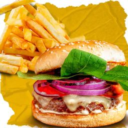 Combo Classic Salad e French Fries