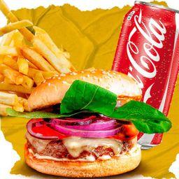 Combo Classic, French Fries e Coca-Cola