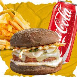 Combo Crocodilo, French Fries e Coca-Cola