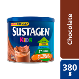 Sustagen Kids Complemento Alimentar Infantil Sabor Chocolate