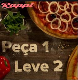 Na compra da Pizza  Mista leve Pizza  2 Queijos por: