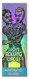Piteira De Papel Lion Rolling Circus Regular