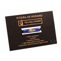 Piteira De Murano Yellow Finger Grande