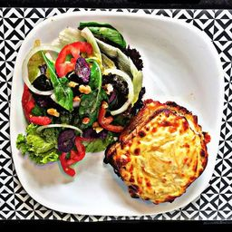 Croque Monsieur do Chef com Salada