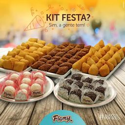 Kit Festa com Bolo Tradicional 10 Pessoas