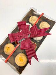Caixinha Presente - 8 Mini Tortinhas
