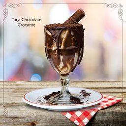 Taça de Chocolate Crocante