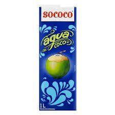 Sococo Agua De Coco Esterilizada