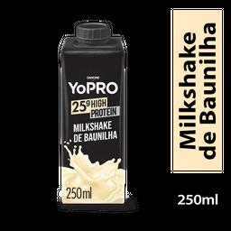 YoPRO Bebida Láctea UHT Milkshake de Baunilha 250ml