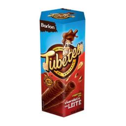 Barion Tubetes Cobertura de Chocolate Ao Leite