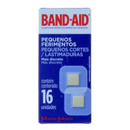 Band-Aid Curativos Pequenos Ferimentos 16 Unidades