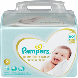 Pampers Fralda Jumbo Premium Care G