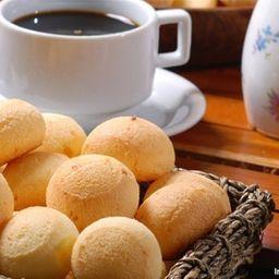 Pão de Queijo + Café