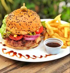Jângal Costelão BBQ Burger DUPLO