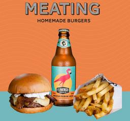 Escolha seu Burger + Flamingo