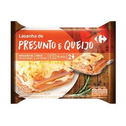 Lasanha Carrefour Presunto E Queijo 600 g