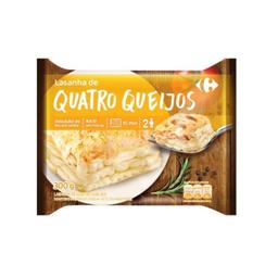 Lasanha Carrefour Quatro Queijos 600 g