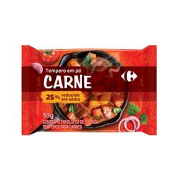 Tempero Carrefour Carne 50 g 10 Und