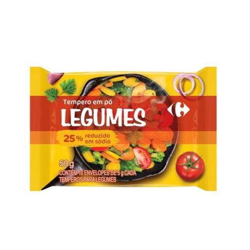 Tempero Carrefour Legum 50 g 10 Und