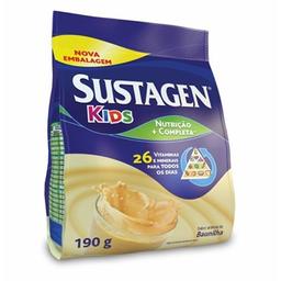 Sustagen Kids Baunilha Sachê Complemento Alimentar -