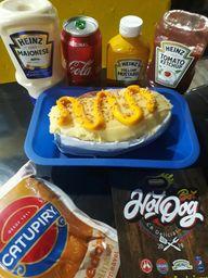 Hot Dog Tradicional Calabresa Cheddar
