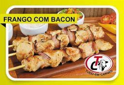 Espetinho Frango com Bacon