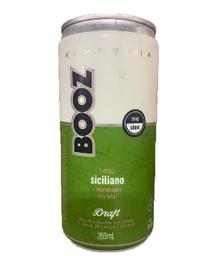 Booz Bebida Fermentada Kombucha Draft Limão E Gengibre