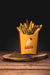 Batata Frita com Zaatar