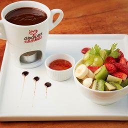 Fondue de Chocolate Saudável Amu