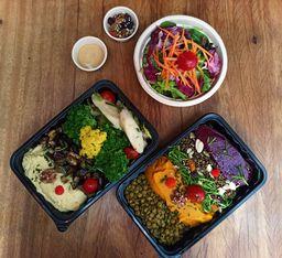 Buffet de Saladas Le Manjue