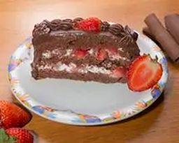 Fatia Morango com Chocolate