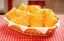 Porção de Pastel de Queijo