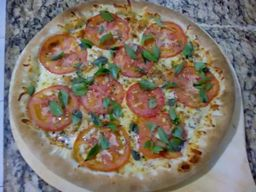 Pizza Marguerita Borda Requeijão - Grande