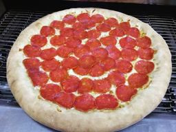 Pizza de Pepperoni Borda Requeijão - Grande