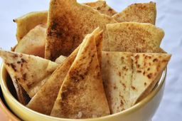 Pão Sírio Torrado com Zaatar