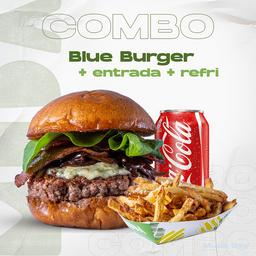 Combo Blue Burger