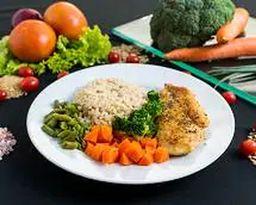 Low Carb Frango com Legumes