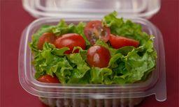 Salada de Alface e Tomatinhos Cereja