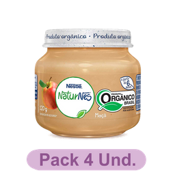 Nestlé Naturnes Papinha OrGânica de Maçã