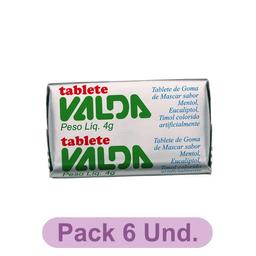 Tablete Valda Unidade
