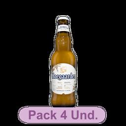 Cerveja HoeGaarden Wit Blanche  LonG Neck