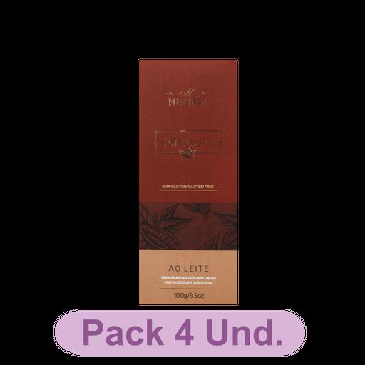 Chocolate NuGali Leite Tablete