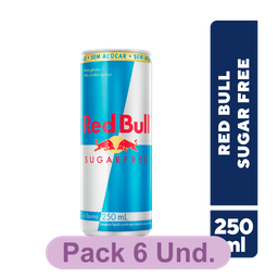EnerGético Red Bull SuGarFree