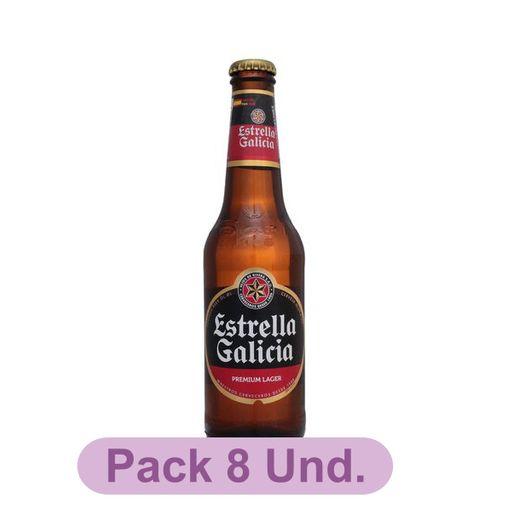 Cerveja Premium LaGer Estrella Galicia