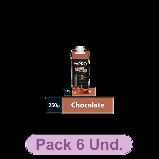 Bebida Lactea Com  De Proteína Yopro Chocolate