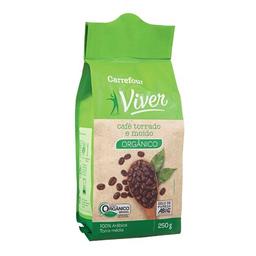 Café Torrado E Moído Orgânico Carrefour Viver 250 g