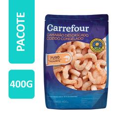 Carrefour Camarao Cozido E descascado Congelado
