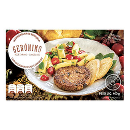 Hambúrguer De Berinjela Gerônimo Castanha De Caju Gergelim 400 g