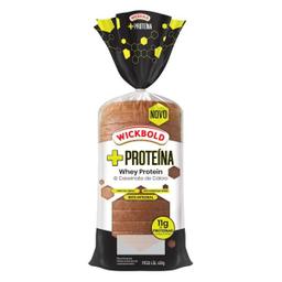 Pão forma Wikcbold +Whey Protein 400 g