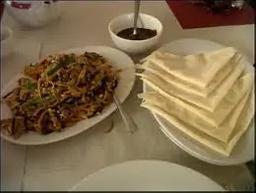 Mushu Pork (Panquecas Chinesas)